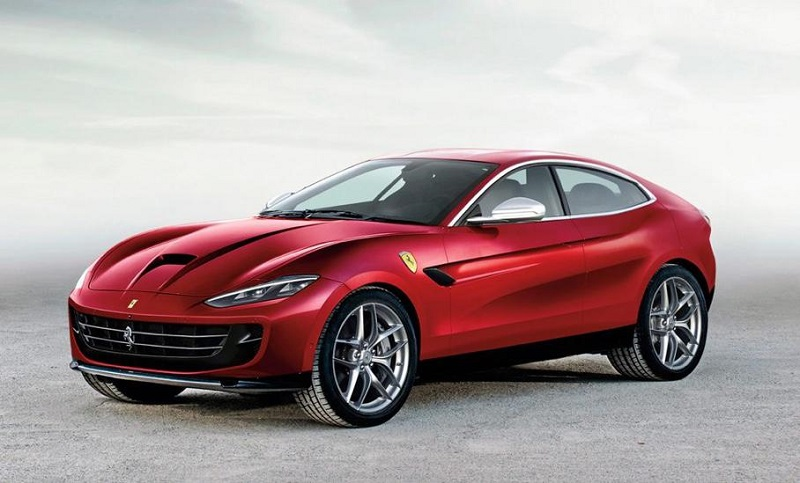 На базе спорткупе Ferrari Roma: кроссоверу «Феррари» быть