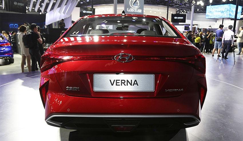 Hyundai Verna – бюджетный вариант Solaris