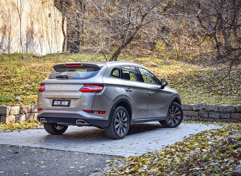 Landwind Fengrong - «копия» Hyundai Santa Fe в «бюджетном» варианте исполнения