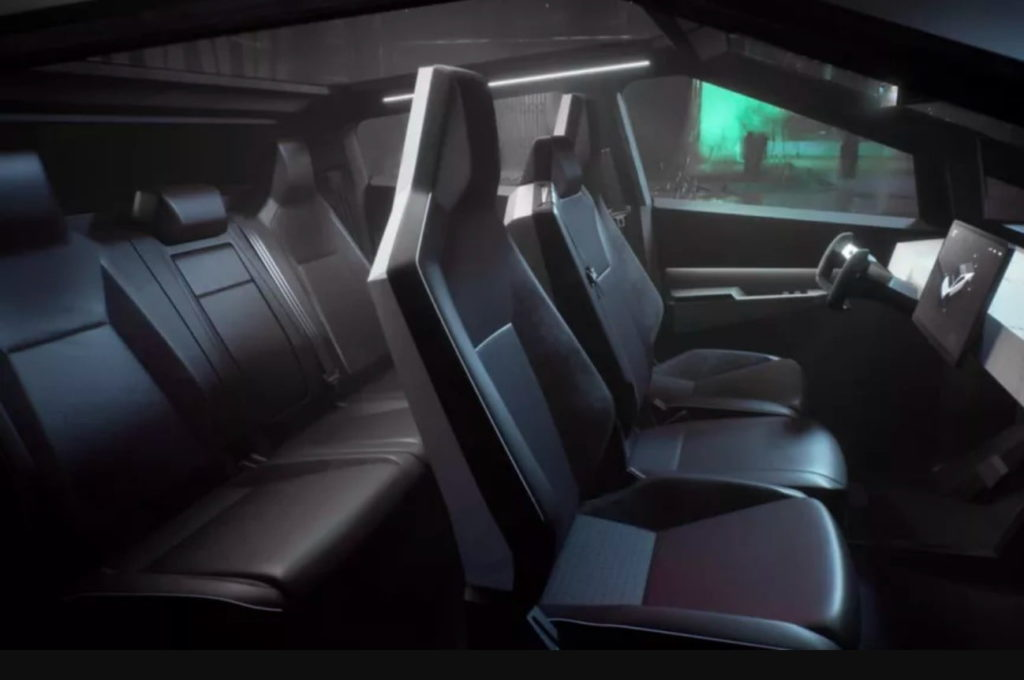 Эксцентричная эстетика: электропикап Tesla Cybertruck 2021